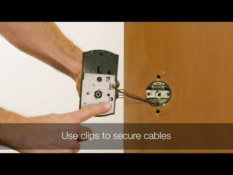 Kwikset Smartcode 955 Light Commercial Lever Installation