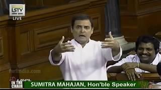Rahul Gandhi ने पार्लियामेंट में की ऐसी हरकत Speaker सुमित्रा महाजन ने Congress को लगाई कड़ी फटकार !