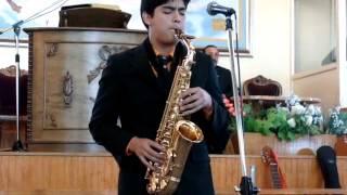 Paz en la Tormenta version saxofon alto