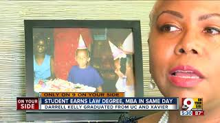 Man earns law degree, MBA in same day