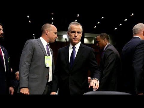 Trump slams Mueller, McCabe over Russia probe