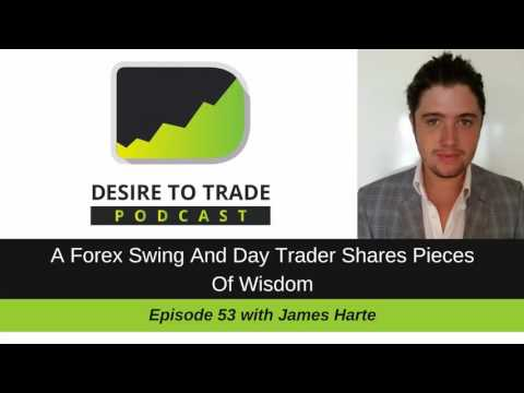 James Harte: A Forex Swing And Day Trader Shares Pieces Of Wisdom | Trader Interview (053)