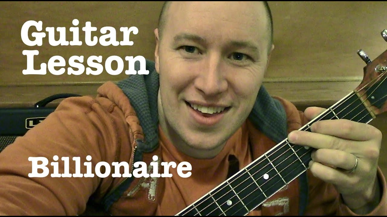 Billionaire Guitar Lesson Easy Bruno Mars Todd Downing