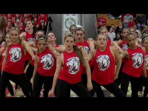 2017 Red Dance Team video