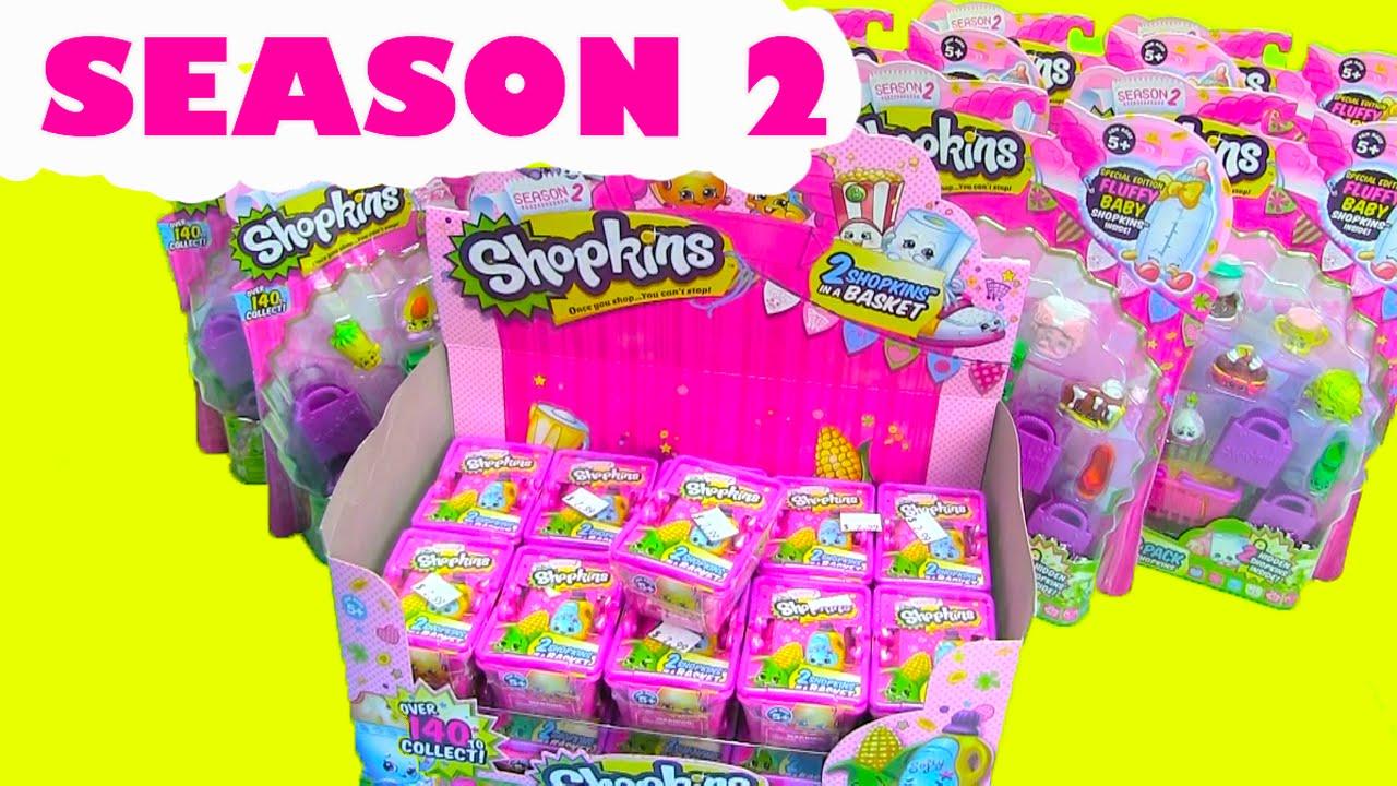 SHOPKINS SEASON 2 Is HERE Shopkins Season Now Available