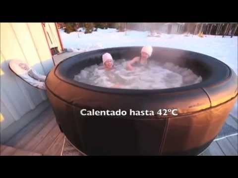 mspa chile jacuzzi inflable youtube