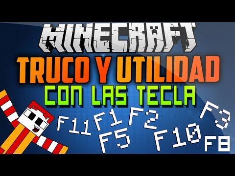 Minecraft | Truco y Utilidad de Las Tecla F1, F2, F3.. Etc (Completo)
