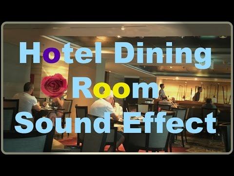 เสียงในห้องอาหารโรงแรมหรู Hotel Dining Room Sound Effect
