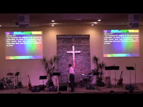 "9-18-2016 Sermon ""Respecting Human Authorities"" - by Pastor Bob Moore"