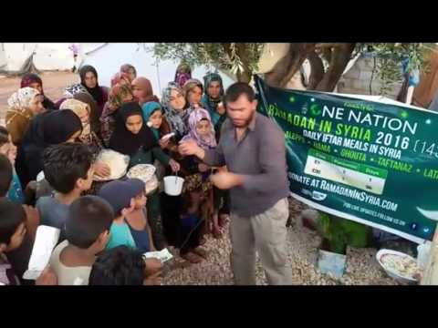 DAY 20 DAILY IFTAR MEALS IN SYRIA RAMADAN 2016