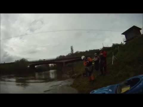 Knightwick Weir Kayaking