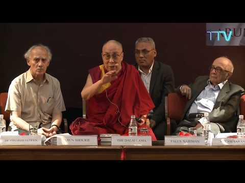 His Holiness interaction with audience at India International Centre, New Delhi