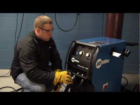 millermatic� 350p mig welder system reset youtube Lincoln 350MP