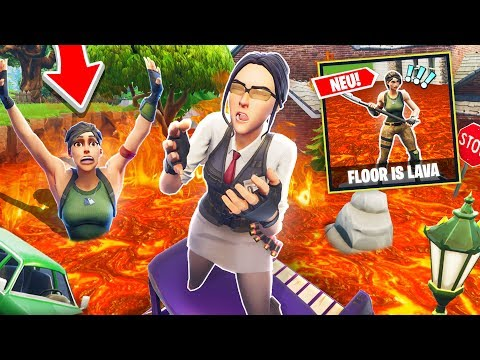 DER BODEN IST LAVA Modus in FORTNITE !