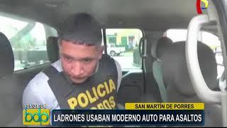 SMP: Caen ladrones cuando iban a cometer atraco a bordo de moderno auto