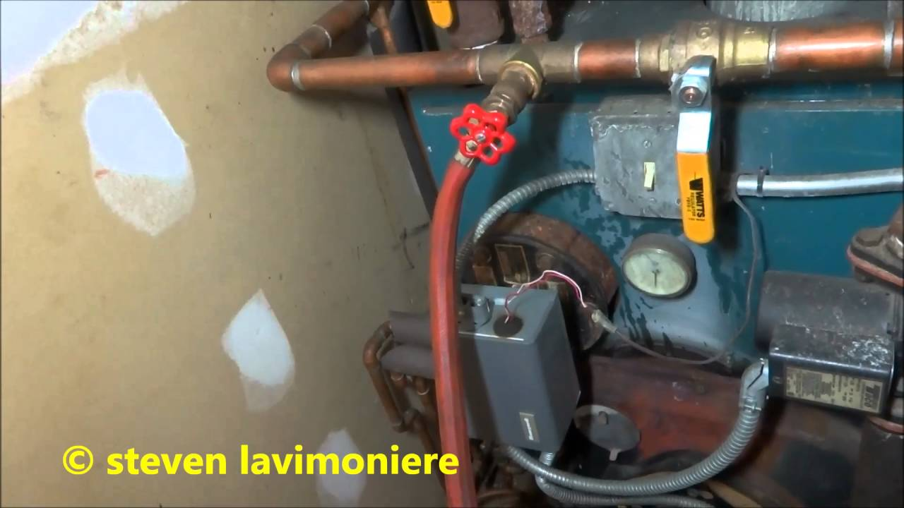 Purge Air From Boiler With Zone Valves Youtube