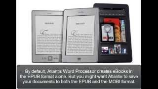 Atlantis Word Processor. Creating eBooks (Part 9). Converting to Kindle