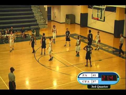 CFA Varsity Boys vs. Fayetteville Academy