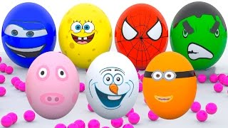 Learn Colors With Surprise Eggs For Children Toddlers Learn Colours With Surprise Eggs