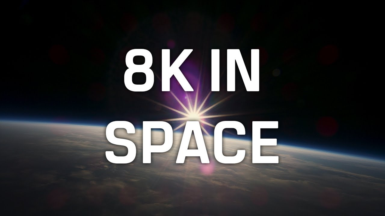 How to make an 8K camera work in space