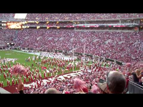 Crimson Tide Stadium Intro (Thunderstruck)