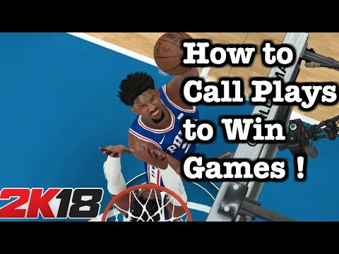 NBA 2K18 How to Call Plays to Win Games ! 2K18 Tips and Tricks How to win 5v5 games Tutorial #51
