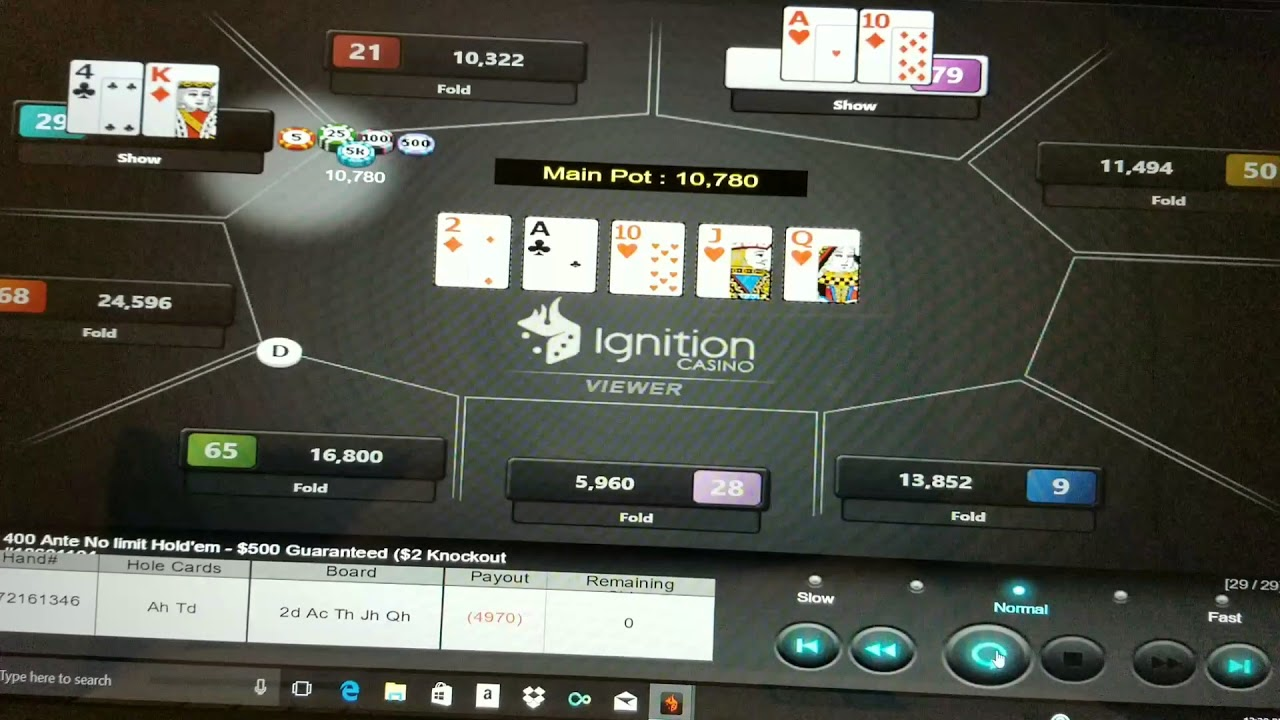 Ignition Poker Scam