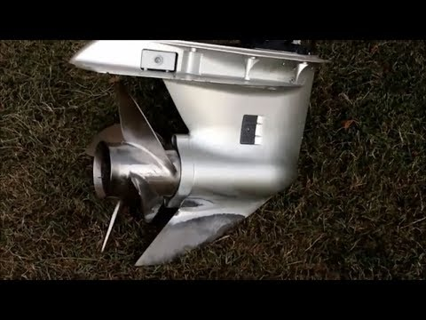 2013 Honda 150 HP V-Tec Lower Unit Removal To Replace Impeller - YouTubeYouTube