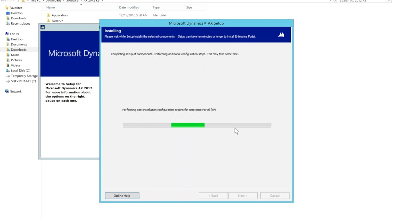 Ax pre requisites to install dynamics ax 2009 and enterprise portal - Ax 2012 R3 Installing Enterprise Portal
