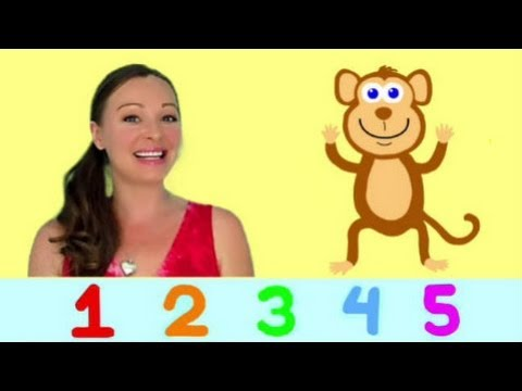 Numbers Song for Children - Counting Song 1-10 for Kids Toddlers Kindergarten