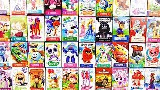40 СЕРИЙ СЮРПРИЗОВ СВИТ БОКСОВ! My little pony,Смешарики,Тачки,Маша и медведь,Фиксики,Барби,Пони
