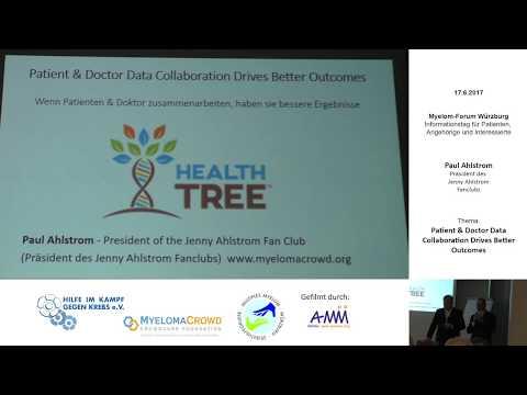 2017-06 Paul Ahlstrom - Ein neues Data Projekt für Myelom Patienten