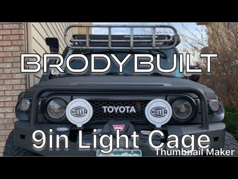 Toyota FJ Light Cage Raptor Liner