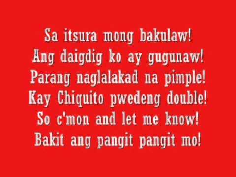 Parokya Ni Edgar-Bakit ang PangitPangit Mo with Lyrics