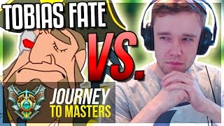 redmercy vs tobias fate rank 1 mid laner journey to masters 36 s7 league of legends
