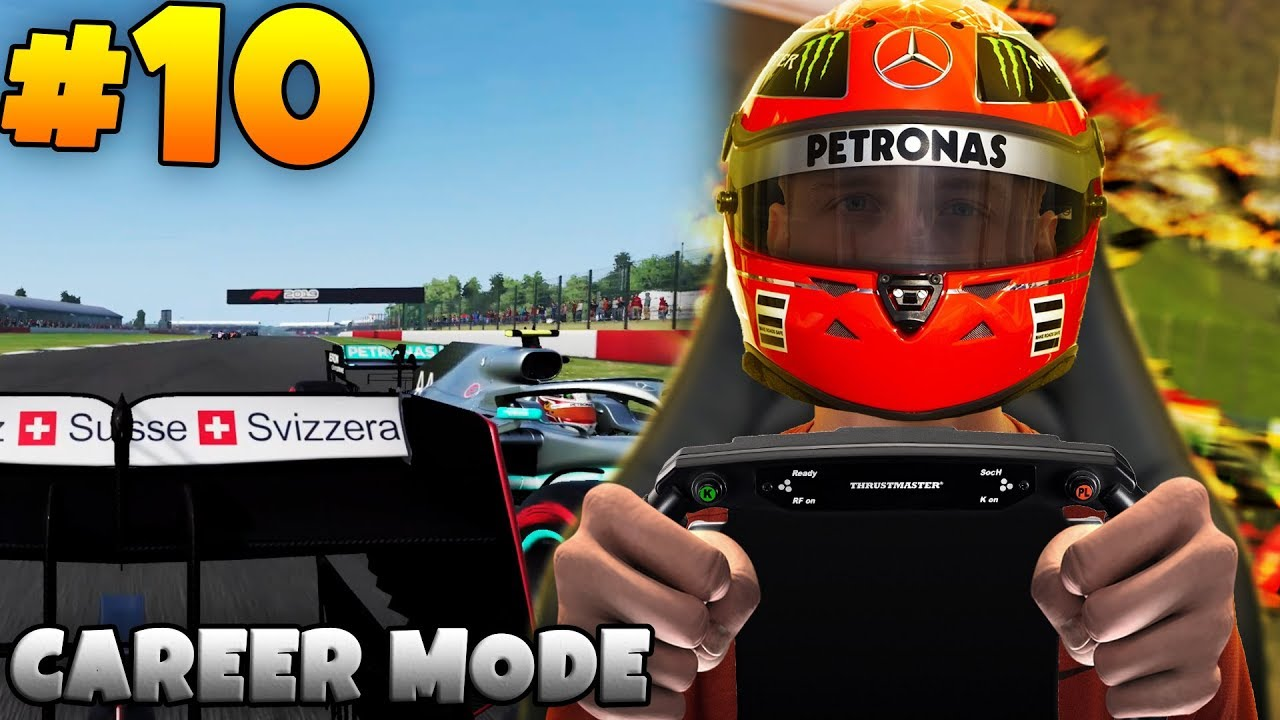 F1 2019 PS4 | CAREER MODE #10 - DON'T MESS WITH ME!!! (F1 2019 English  Gameplay Ep 10)