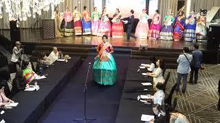 드레스 패션쇼 -  글로벌 인물대상 한류월드스타 궁중코…