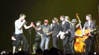 Lady Antebellum/David Nail/Darius Rucker - Midnight Rider/Black Water (Cover) - Detroit,MI - 2/25/12