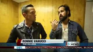 The Killers go one-on-one with Action News at Life is Beautiful