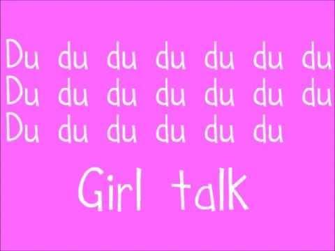 Ultraviolet Sound - Girl Talk - Lyrics