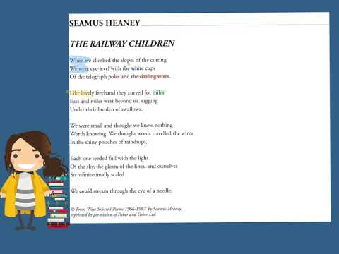 Seamus Heaney: The Railway Children