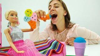 Поделки с Барби: Брошка в виде мороженого своими руками