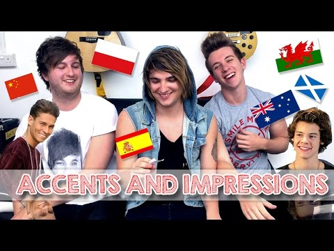 ACCENTS & IMPRESSIONS - ESSEX, WELSH, ITALIAN, POLISH, HARRY STYLES, JANOSKIANS & MORE! | Dean & Kit