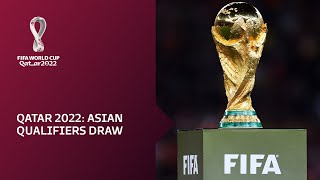 Relive: Afc Draw For Qatar 2022 Qualifying