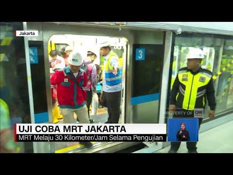 Anies Uji Kesesuaian Sistem MRT