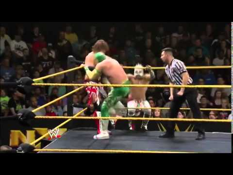 WWE NXT - Tag Team Tournament: Kalisto & Sin Cara Vs. Buddy Murphy E Wesley Black