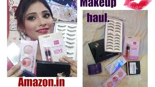 amazon makeup haul || affordable makeup|| shy styles