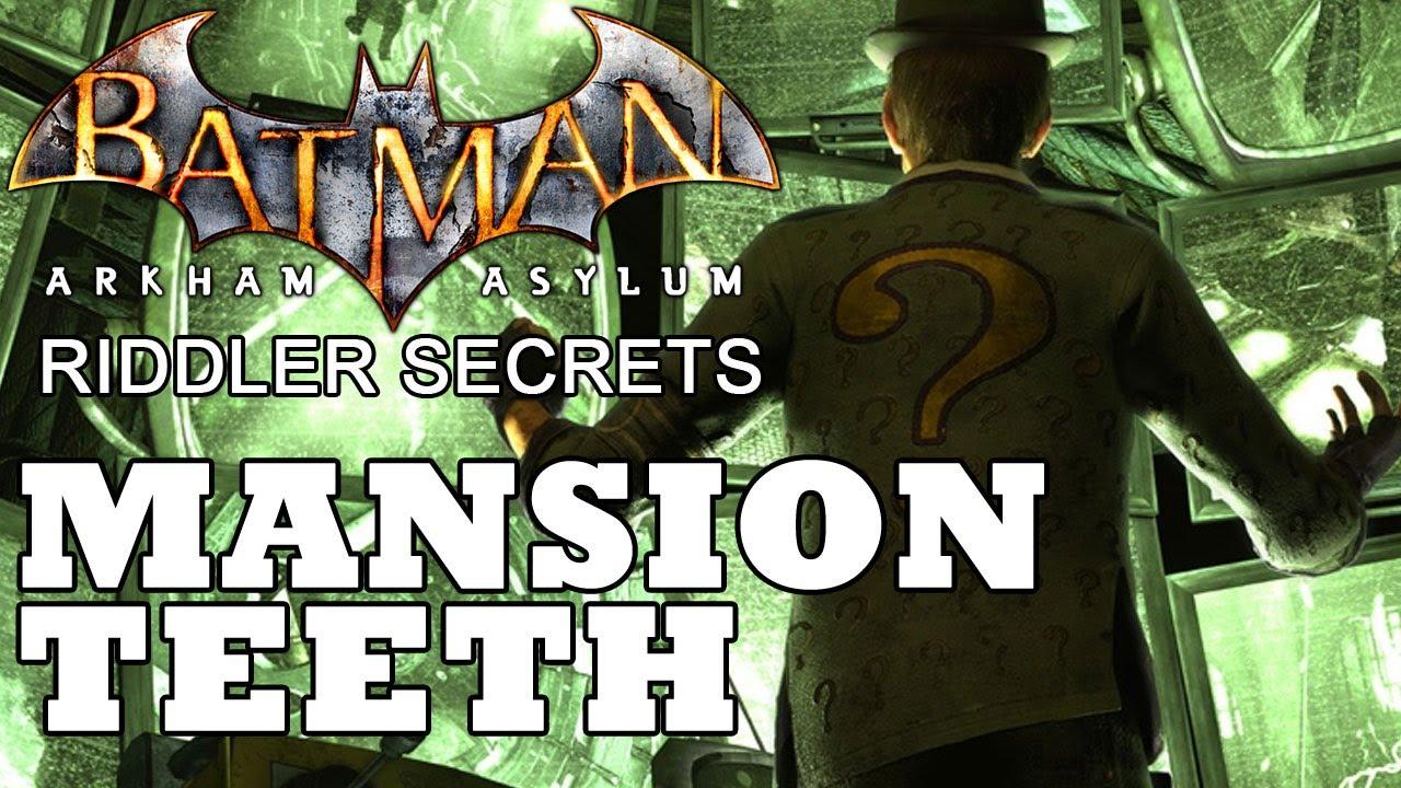 Collectibles - Arkham Mansion - part 1 - Batman: Arkham ...