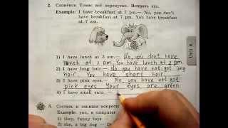 Выполнить домашнюю работу к уроку 59, 3 класс, Enjoy English УМК Биболетовой М.З.