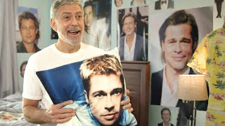 George Clooney is a Big Brad Pitt Fan and Terrible Roommate // Omaze